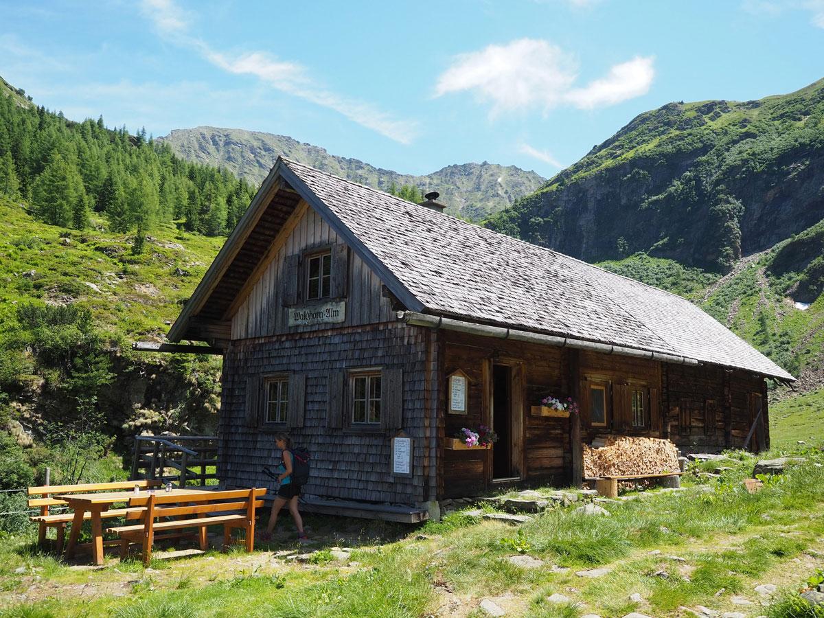 Hütte am Schladminger Tauern Höhenweg