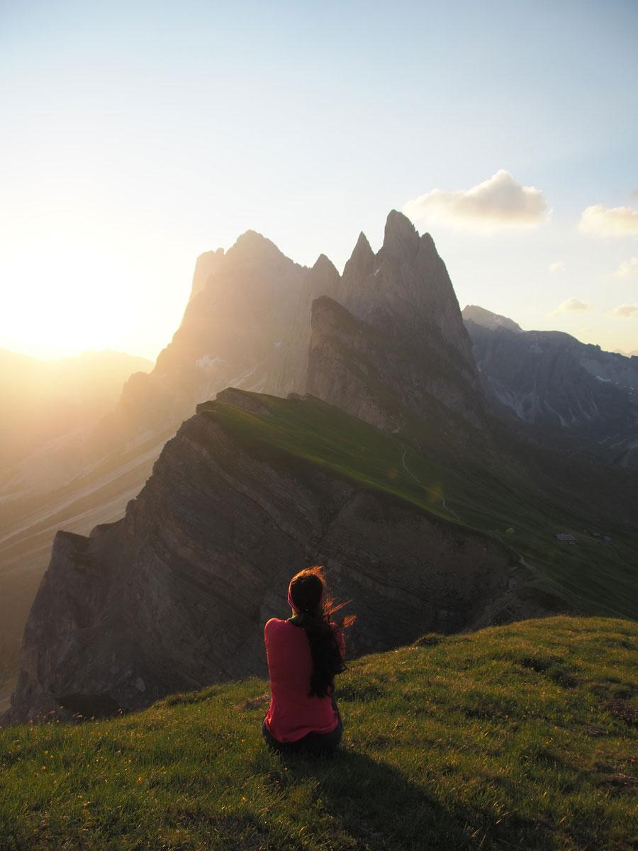 seceda sonnenaufgang dolomiten.suedtirol 7 - Highlights in den Südtiroler Dolomiten