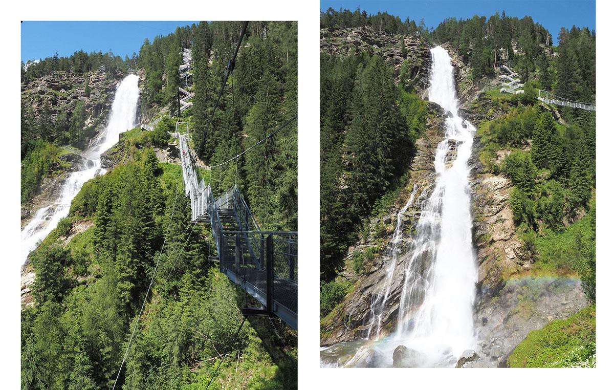 Stuibenfall im Ötztal Tirol Österreich