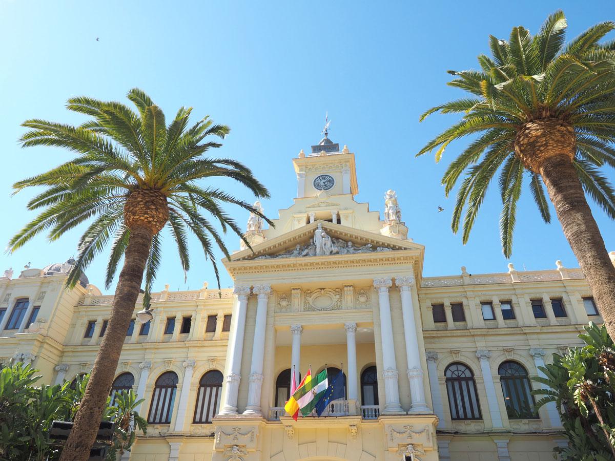 Regierungsgebäude in Malaga