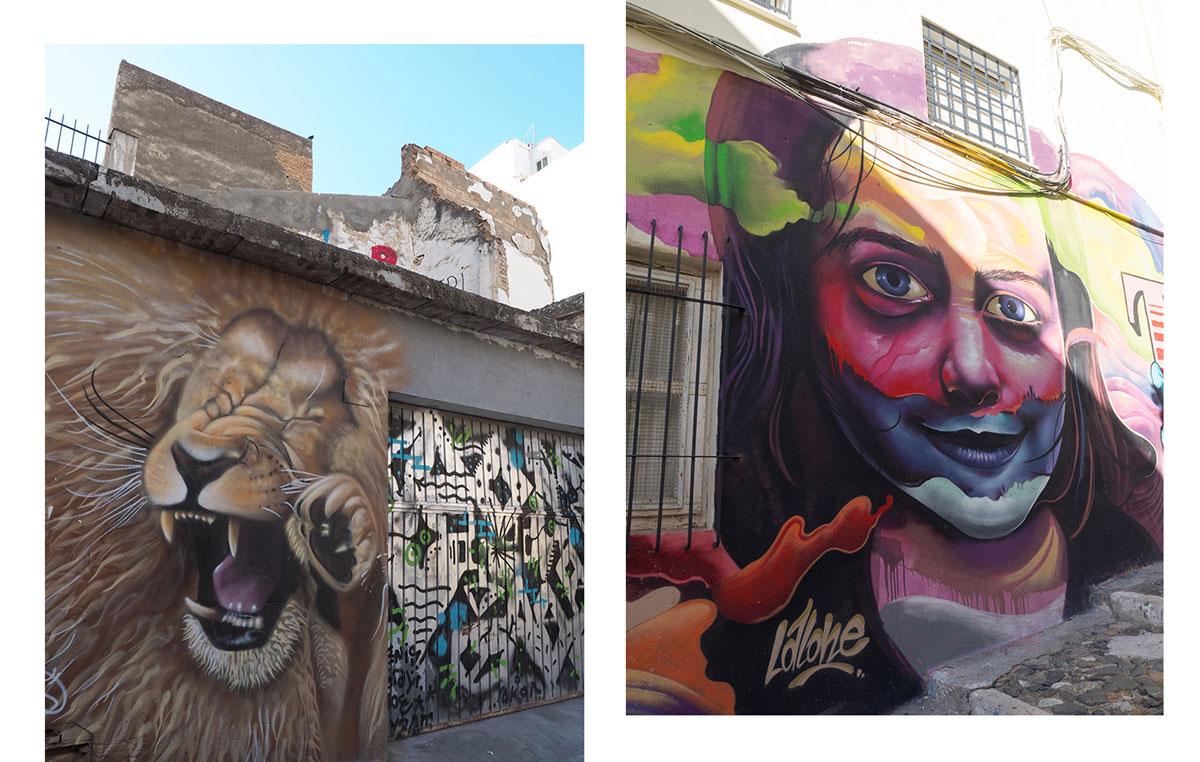 Graffiti Kunst in Malaga