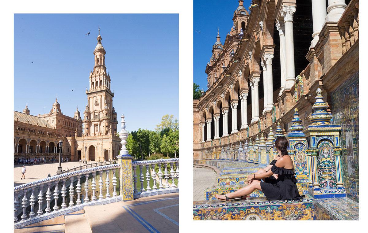 Plaza de Espana Sevilla