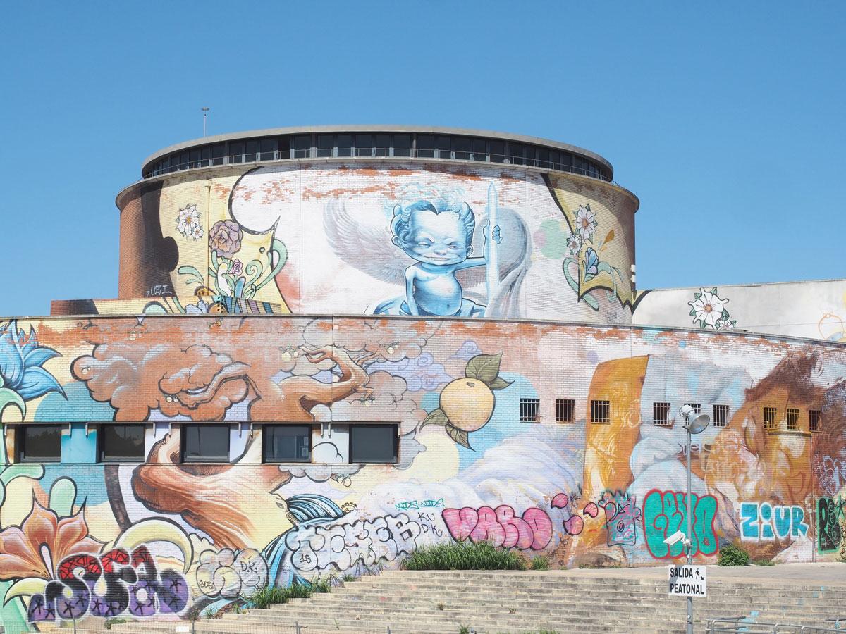 Graffiti Sevilla Andalusien