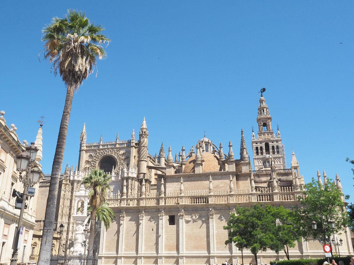 La Giralda Kathedrale Sevilla