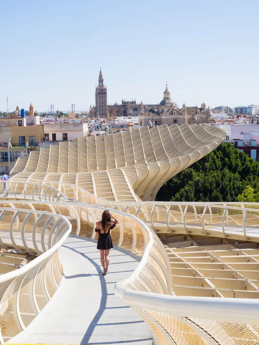 Metropol Parasol Sevilla Sehenswürdigkeiten