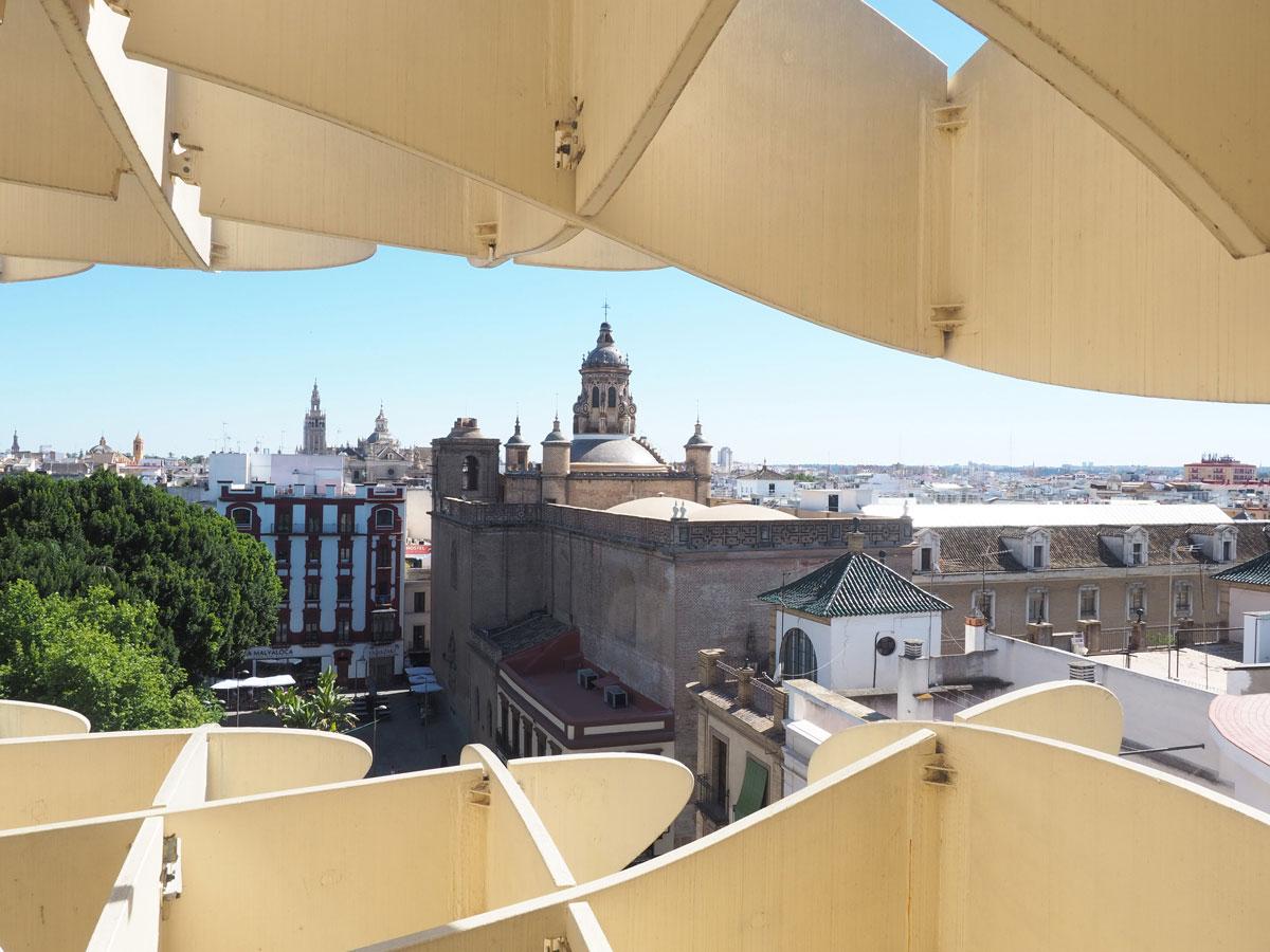 Metropol Parasol Sevilla Andalusien