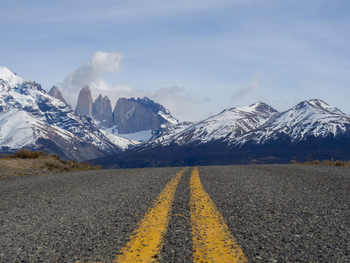 mit dem auto torres del paine nationalpark chile3 - Torres del Paine Nationalpark ohne W Trek