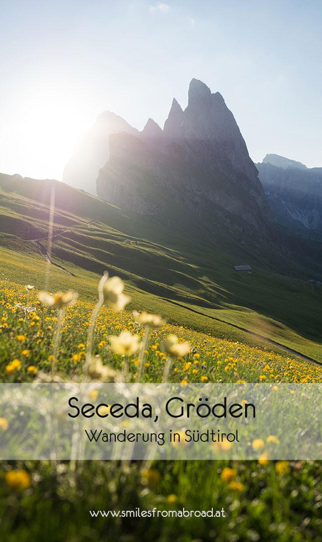 seceda pinterest3 - Wandern auf die Seceda von Wolkenstein - Sonnenaufgang auf der Seceda