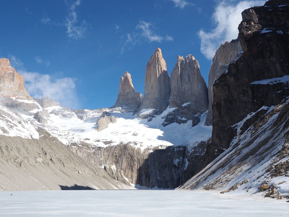 wanderung torres patagonien torres del paine nationalpark chile4 - Torres del Paine Nationalpark ohne W Trek