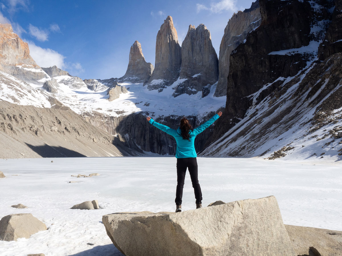 wanderung torres patagonien torres del paine nationalpark chile5 - Torres del Paine Nationalpark ohne W Trek