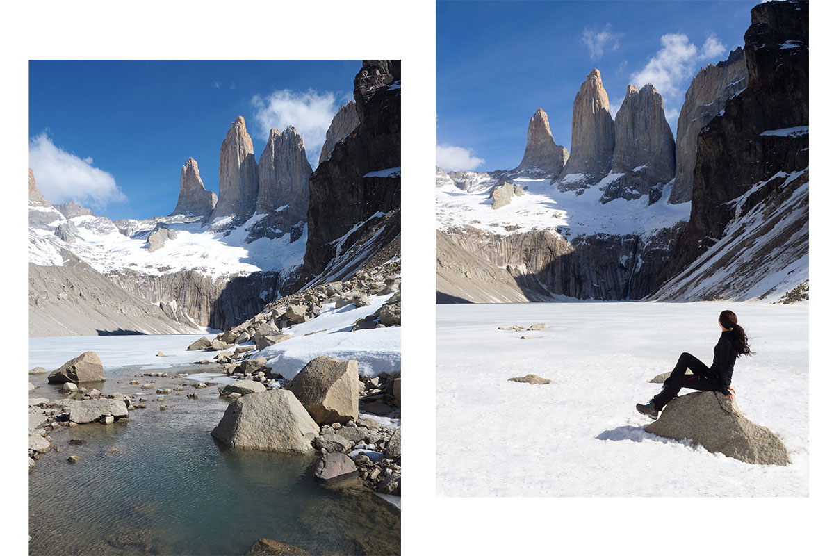wanderung torres patagonien torres del paine nationalpark chile6 - Torres del Paine Nationalpark ohne W Trek
