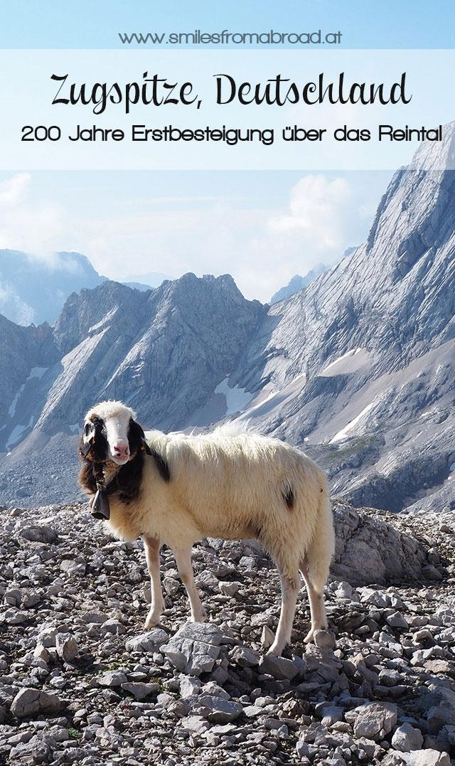 zugspitze pinterest2 - Wanderung auf die Zugspitze - Auf Spuren der Erstbesteiger auf Deutschlands höchsten Berg