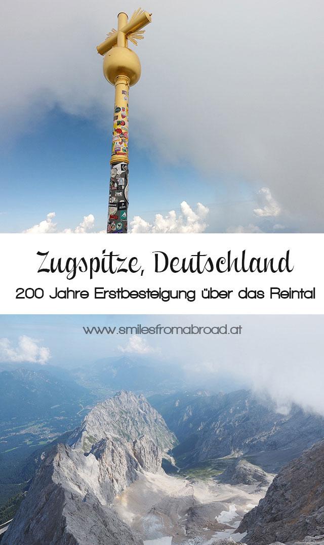 zugspitze pinterest3 - Wanderung auf die Zugspitze - Auf Spuren der Erstbesteiger auf Deutschlands höchsten Berg