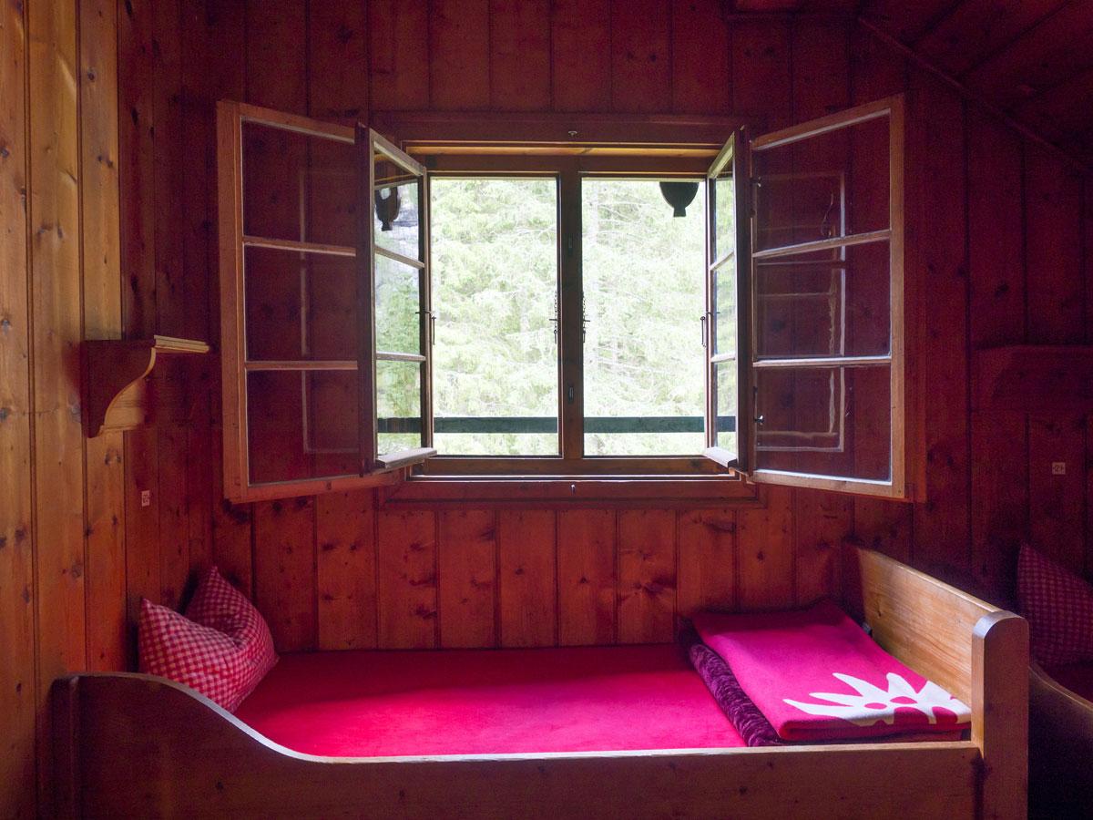 Übernachten in der Reintalangerhütte