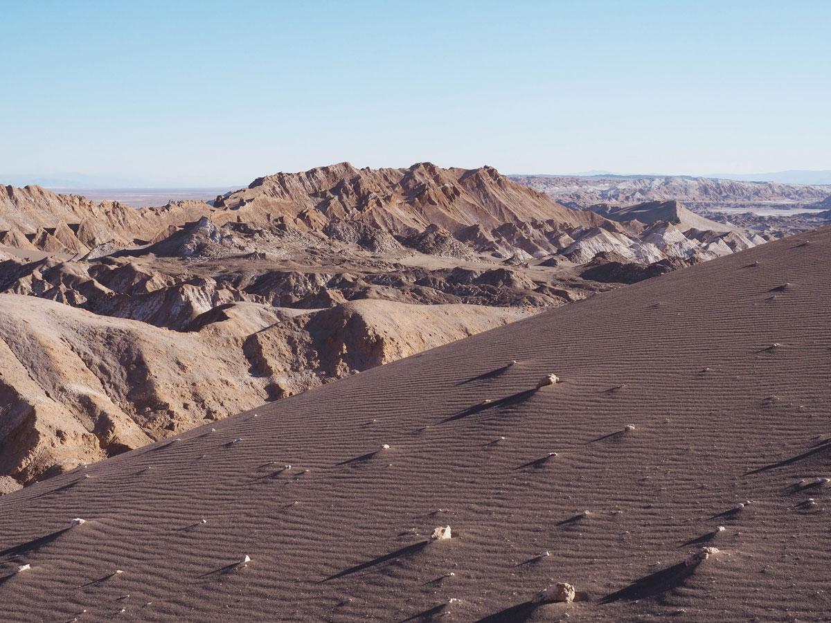 atacama chile valle de la luna 2 - Als Selbstfahrer in der Atacama Wüste in Chile unterwegs