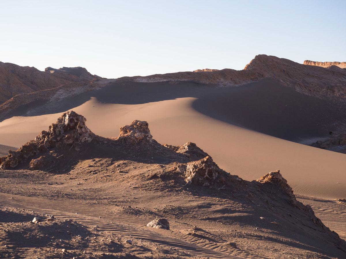 atacama chile valle de la luna 3 - Als Selbstfahrer in der Atacama Wüste in Chile unterwegs