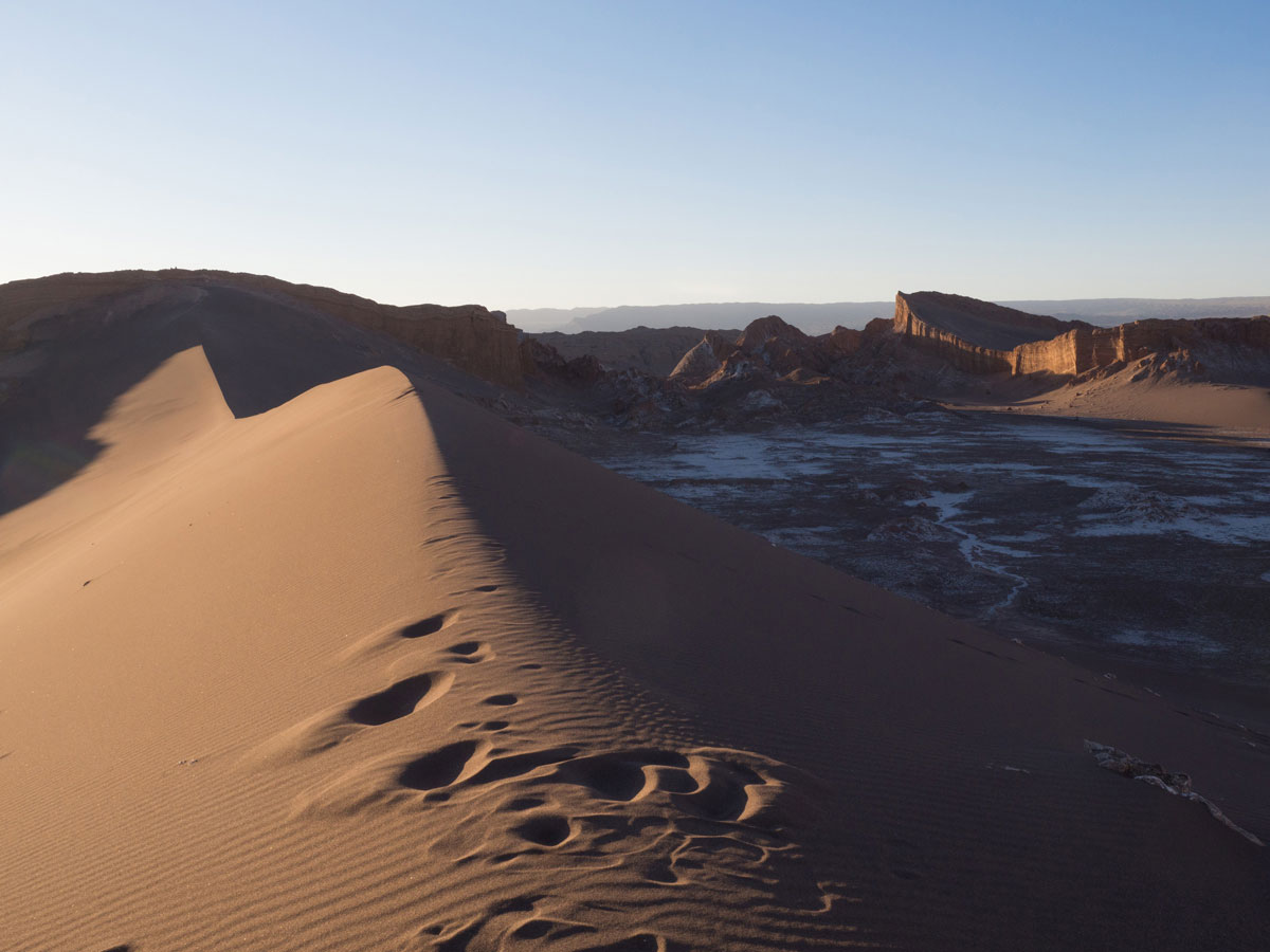 atacama chile valle de la luna 4 - Als Selbstfahrer in der Atacama Wüste in Chile unterwegs