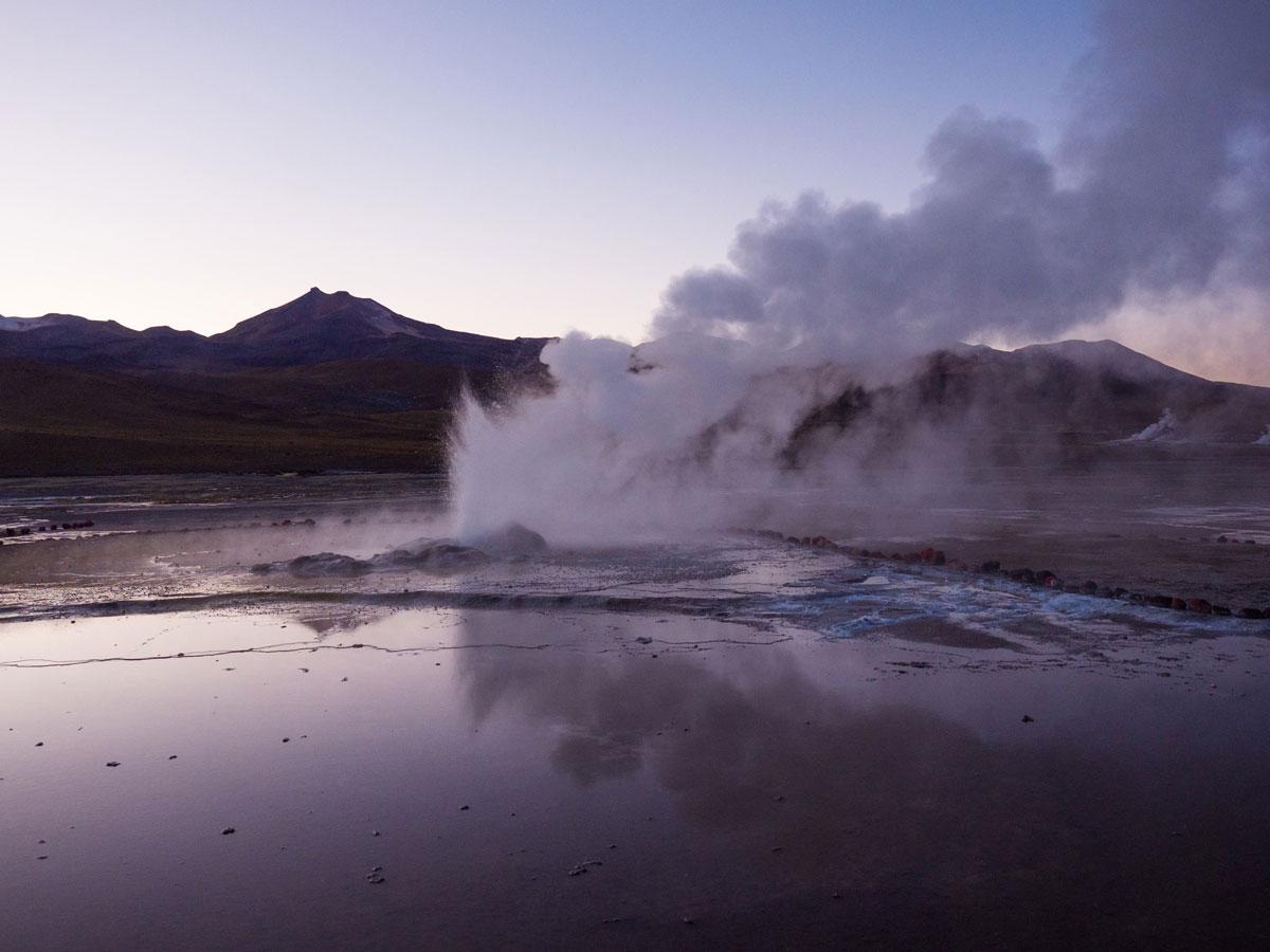 atacama el tatio 1 - Als Selbstfahrer in der Atacama Wüste in Chile unterwegs