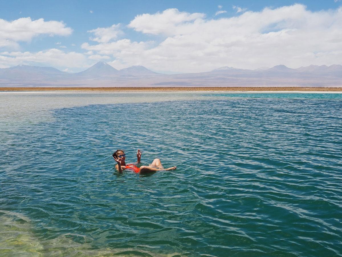 atacama laguna cejar 2 - Als Selbstfahrer in der Atacama Wüste in Chile unterwegs