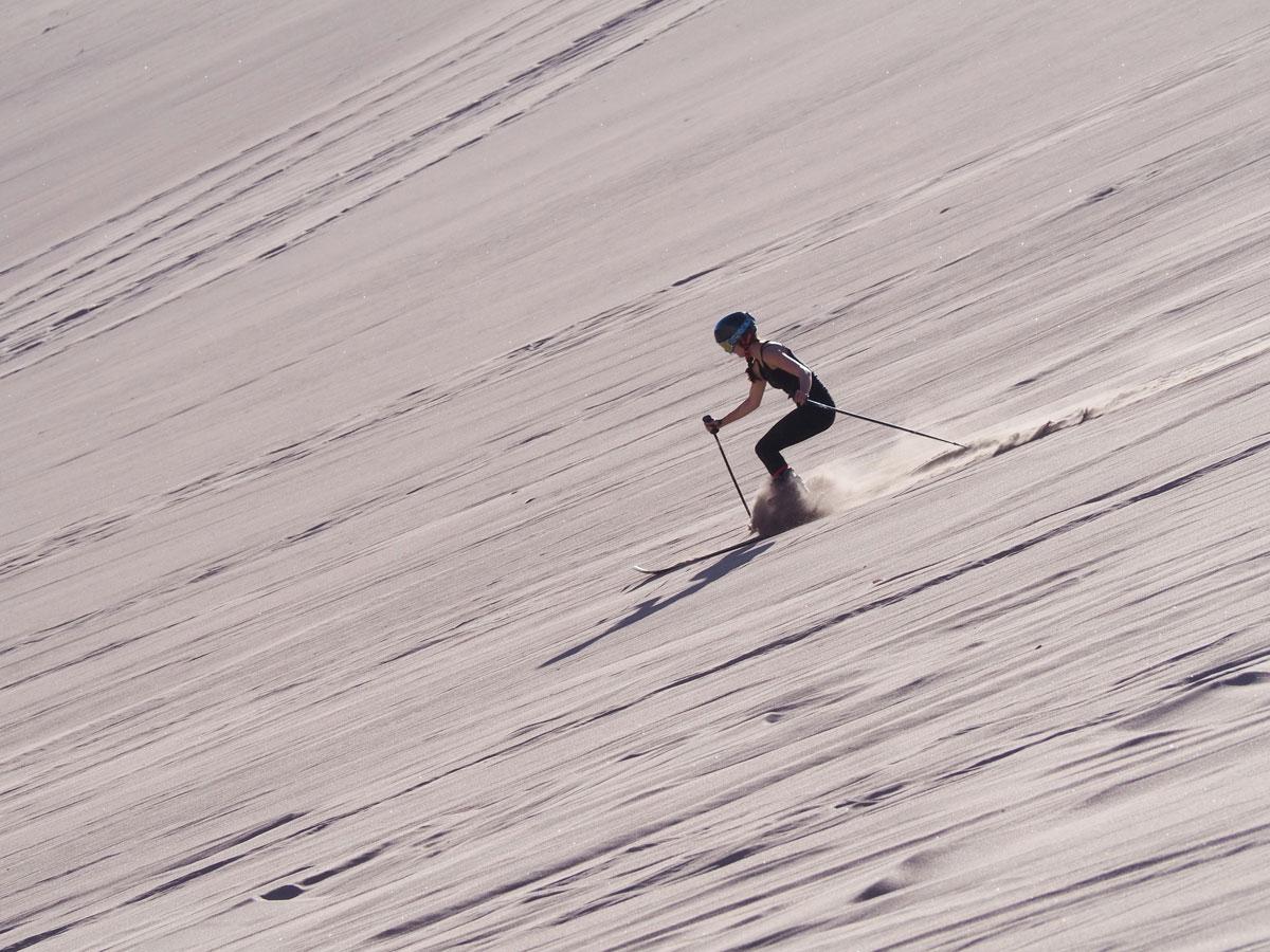 atacama sandsurfen sandskiing 4 - Als Selbstfahrer in der Atacama Wüste in Chile unterwegs