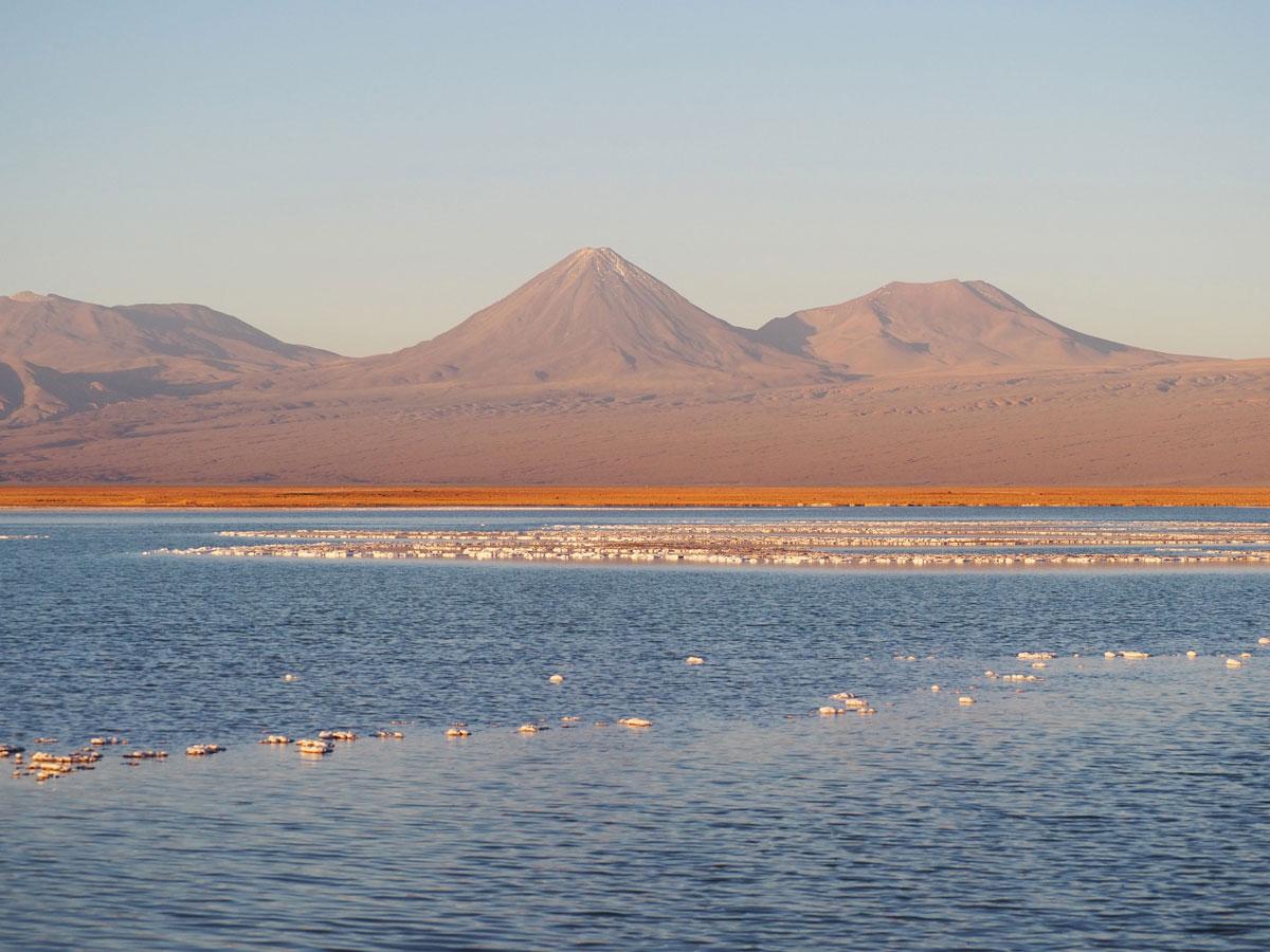 atacama tebenquiche laguna - Als Selbstfahrer in der Atacama Wüste in Chile unterwegs