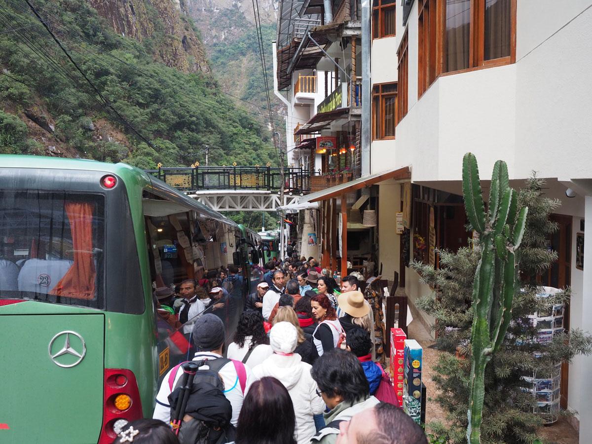Anreise zu Machu Picchu Bus