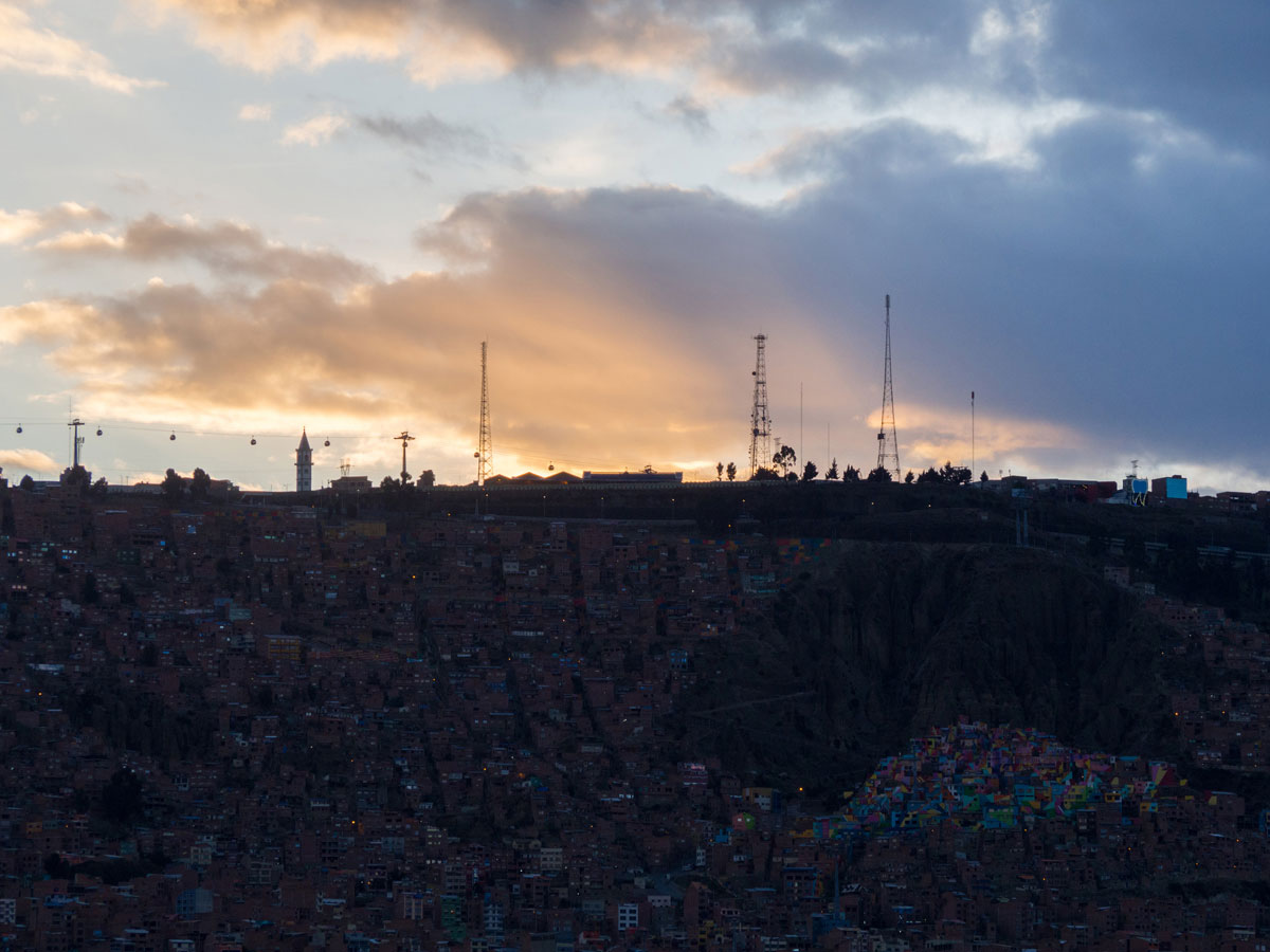 mirador killi killi la paz 5 - Sehenswertes in La Paz und El Alto, Bolivien