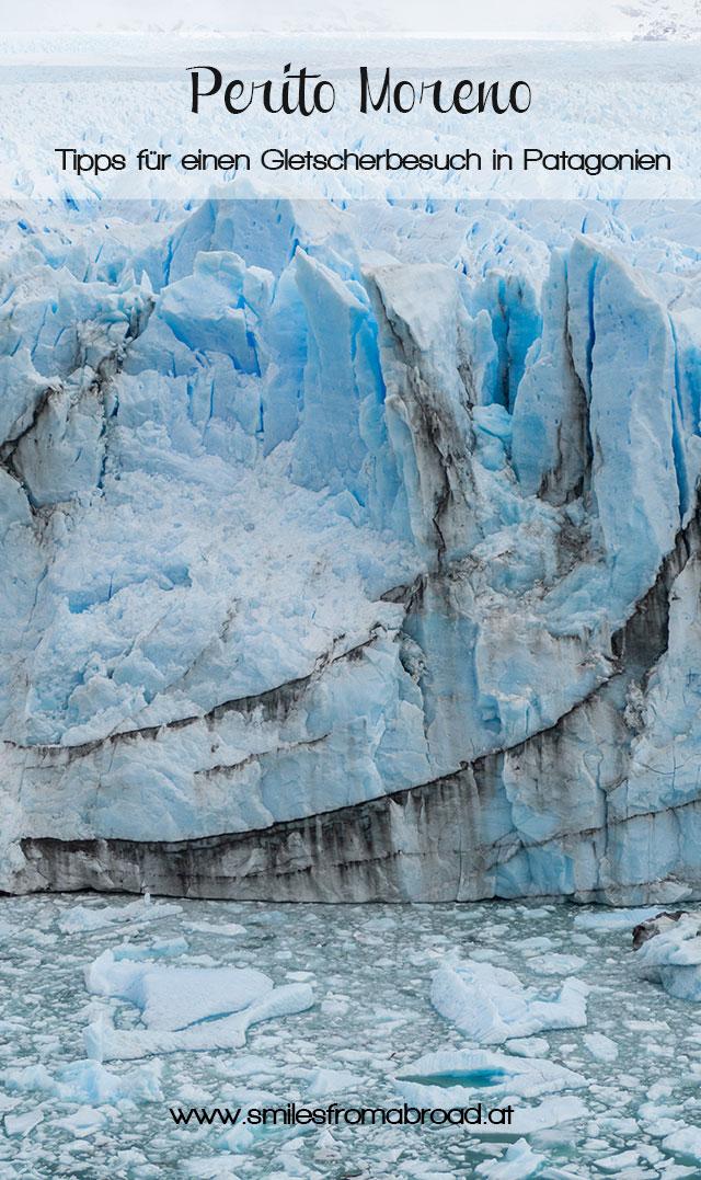 peritomoreno pinterest2 - (Deutsch) Perito Moreno Gletscher in Patagonien - Reisetipps und Picture Diary