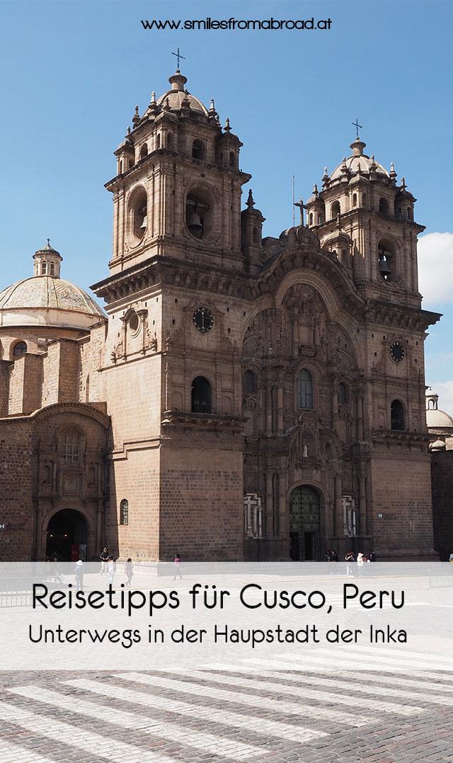 pinterest cusco4 - Reisetipps für die Inkastadt Cusco in Peru