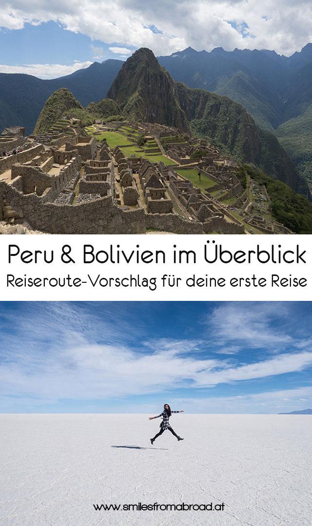 pinterest peru bolivien2 - Peru und Bolivien im Überblick - Reiseroute Vorschlag