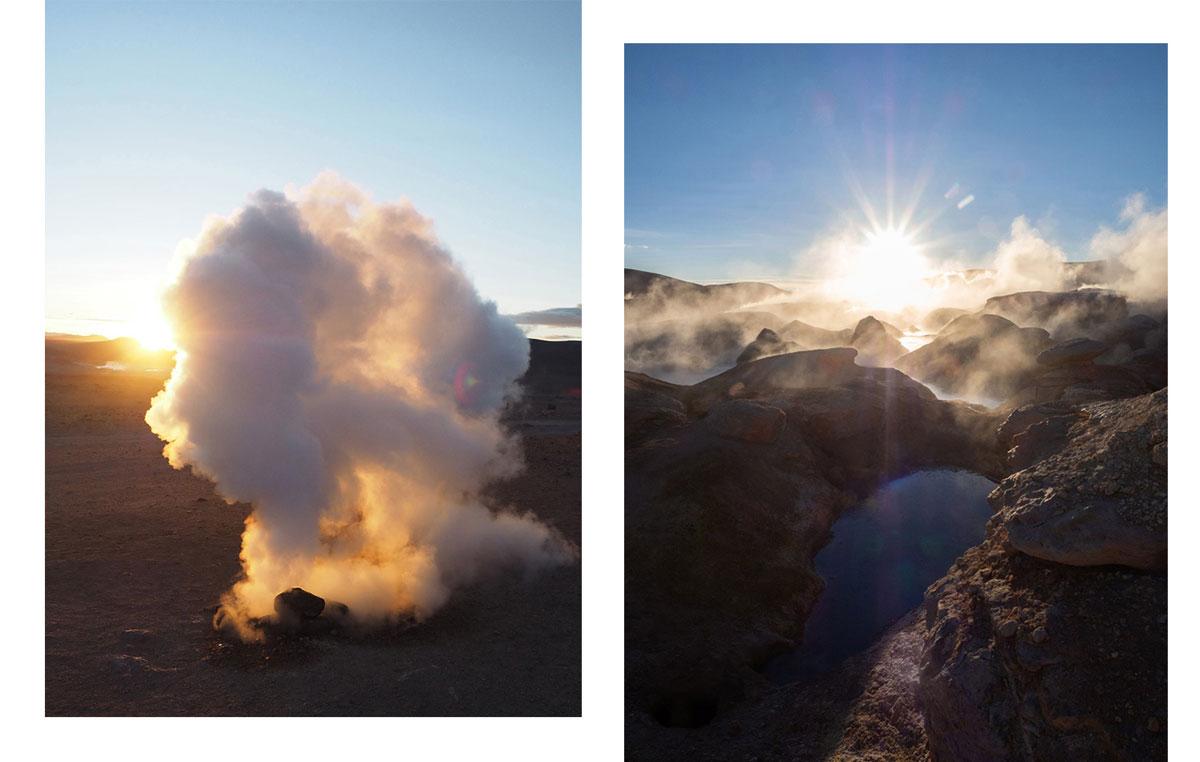 salar de uyuni tour geysire - Ausflug in die Salar de Uyuni und Laguna Colorada in Bolivien