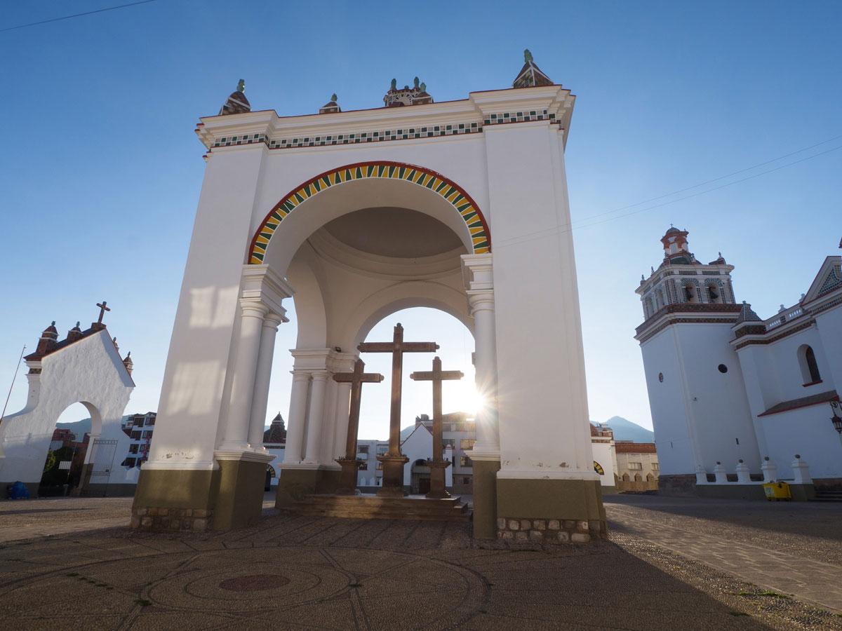 Copacabana Titicacasee Kirche