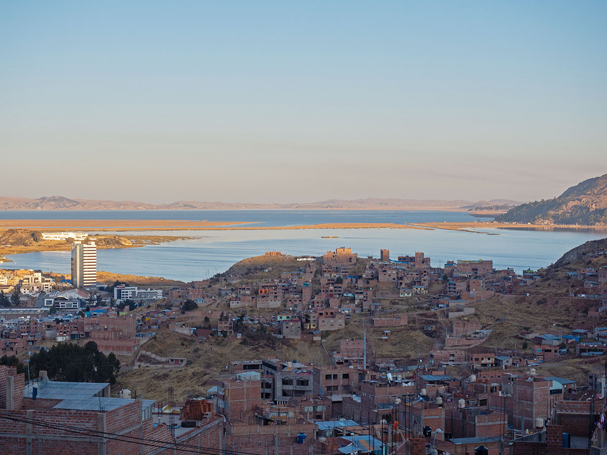 Puno Titicacasee