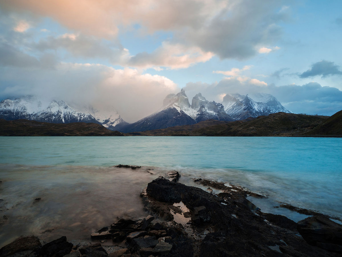 torres del paine nationalpark sonnenaufgang 1 - Torres del Paine Nationalpark ohne W Trek