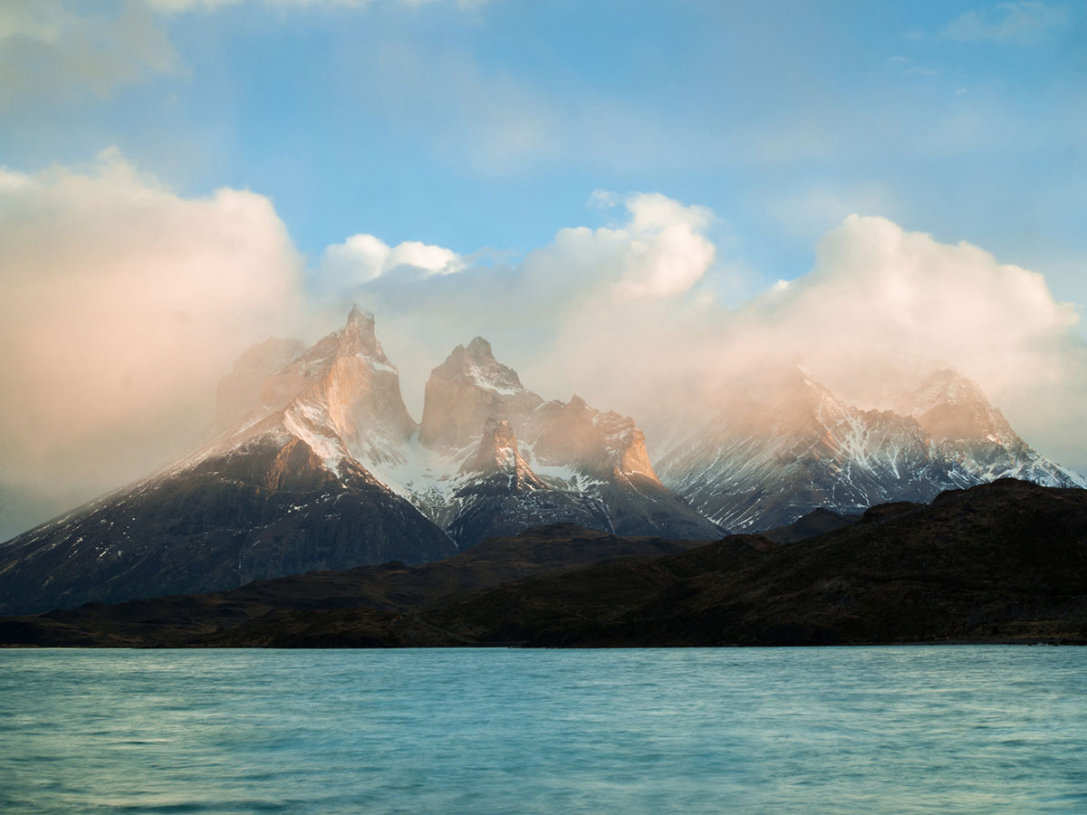 torres del paine nationalpark sonnenaufgang 2 - Torres del Paine Nationalpark ohne W Trek