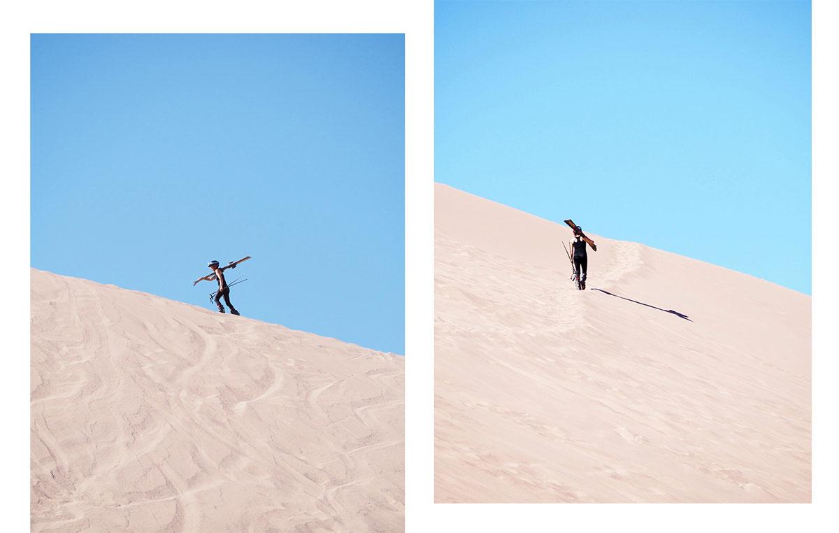 valle de la muerte sandduene - Als Selbstfahrer in der Atacama Wüste in Chile unterwegs
