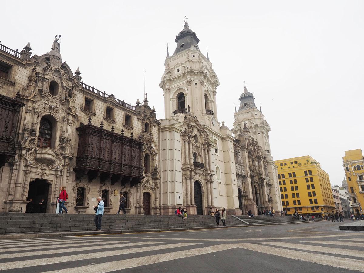 Plaza de Armas in Lima Peru
