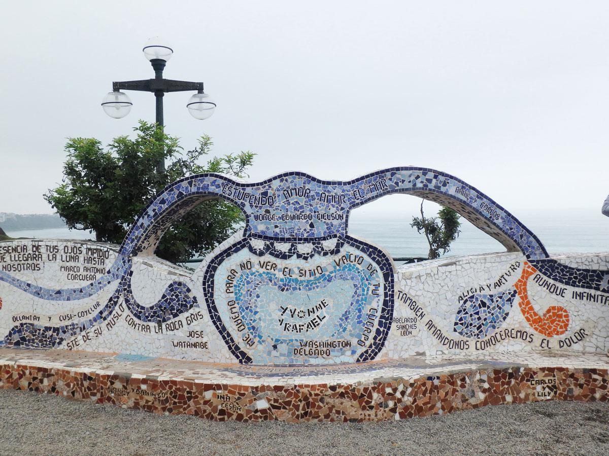Parque del Amor Lima Peru