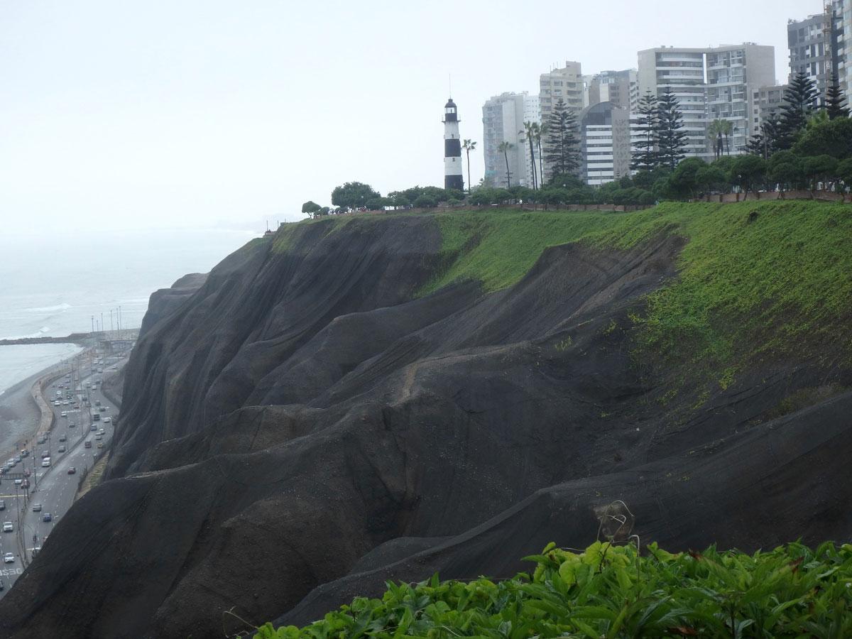Miraflores Küste Lima Peru
