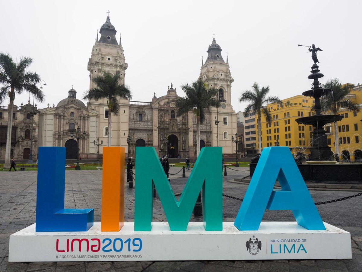 Historisches Zentrum Lima Peru