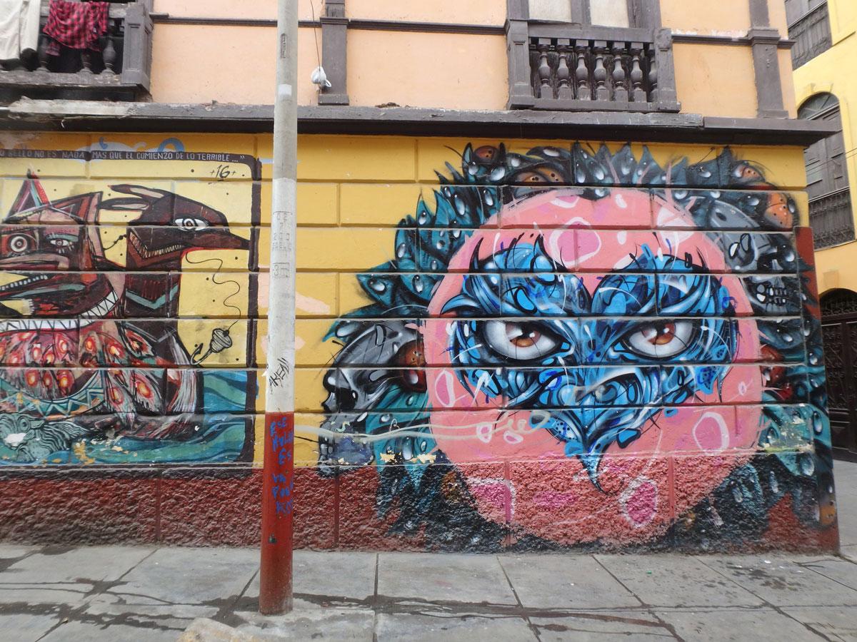 Callao Monumental Lima Peru Street Art