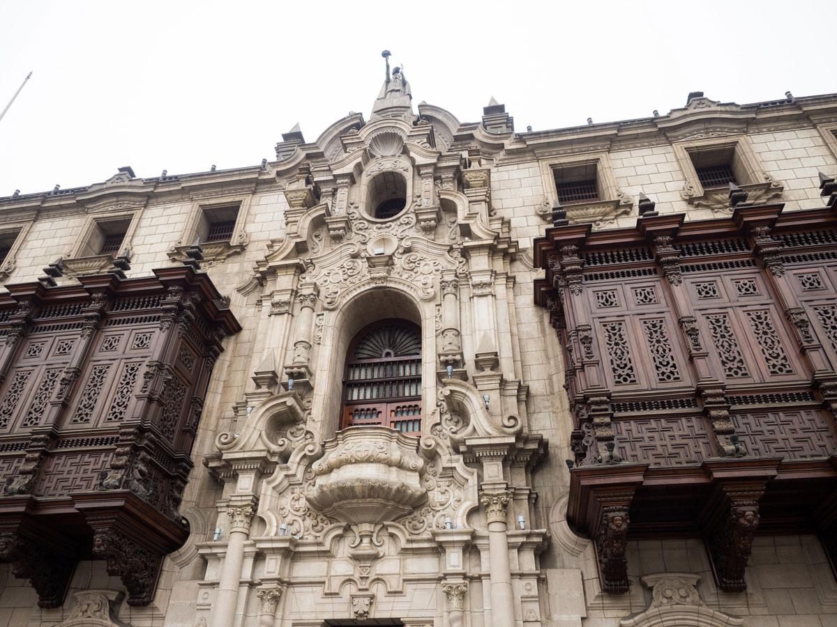 Historisches Zentrum in Lima Peru