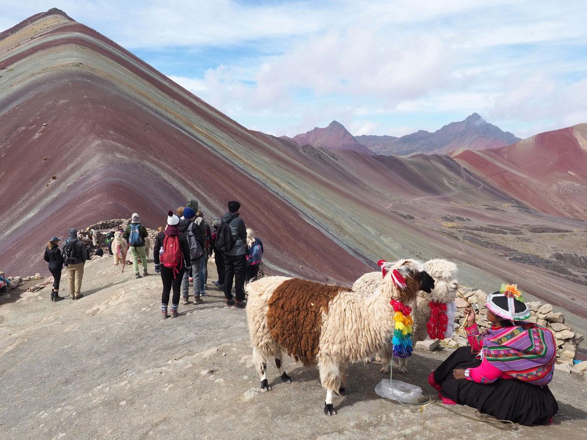 Rainbow Mountain ohne Leute erleben