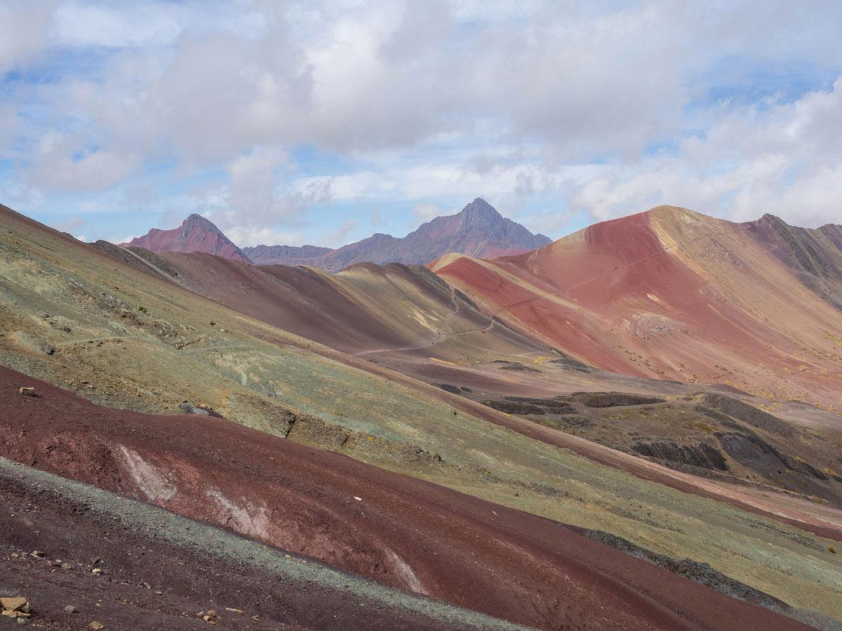 Red Valley beim Rainbow Mountain Peru