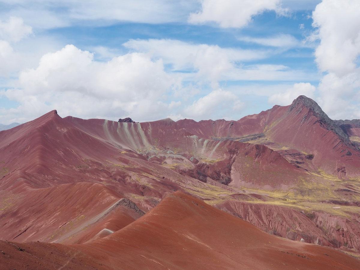 Rainbow Mountain Red Valley Ausblick