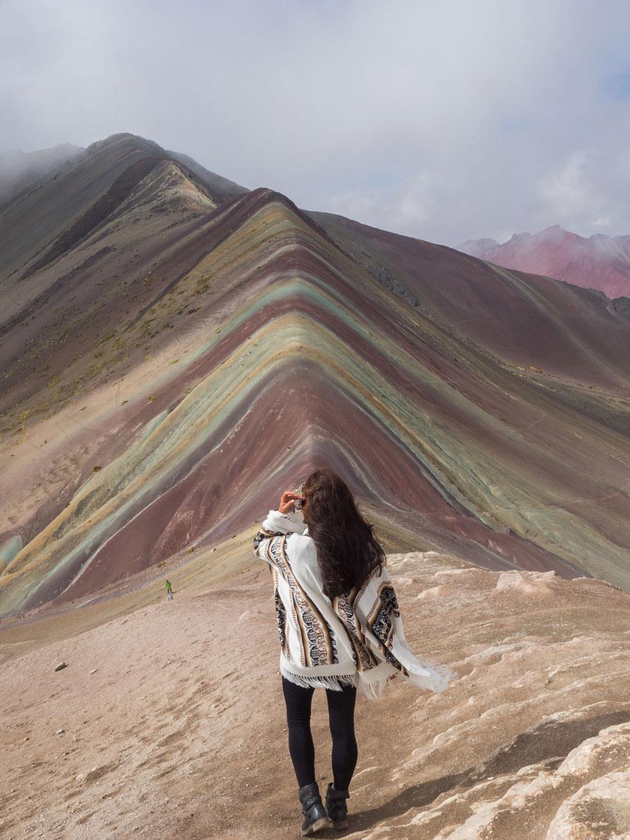 Rainbow Mountain Peru Südamerika