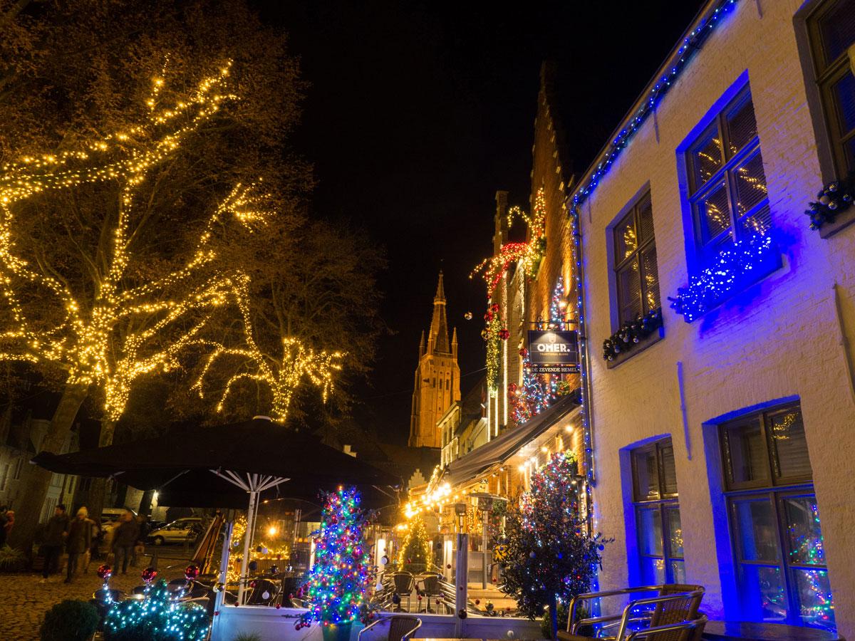 bruegge flandern belgien weihnachtszeit 11 - Brügge zur Adventszeit - Weihnachtsmarkt und Weihnachtslichter