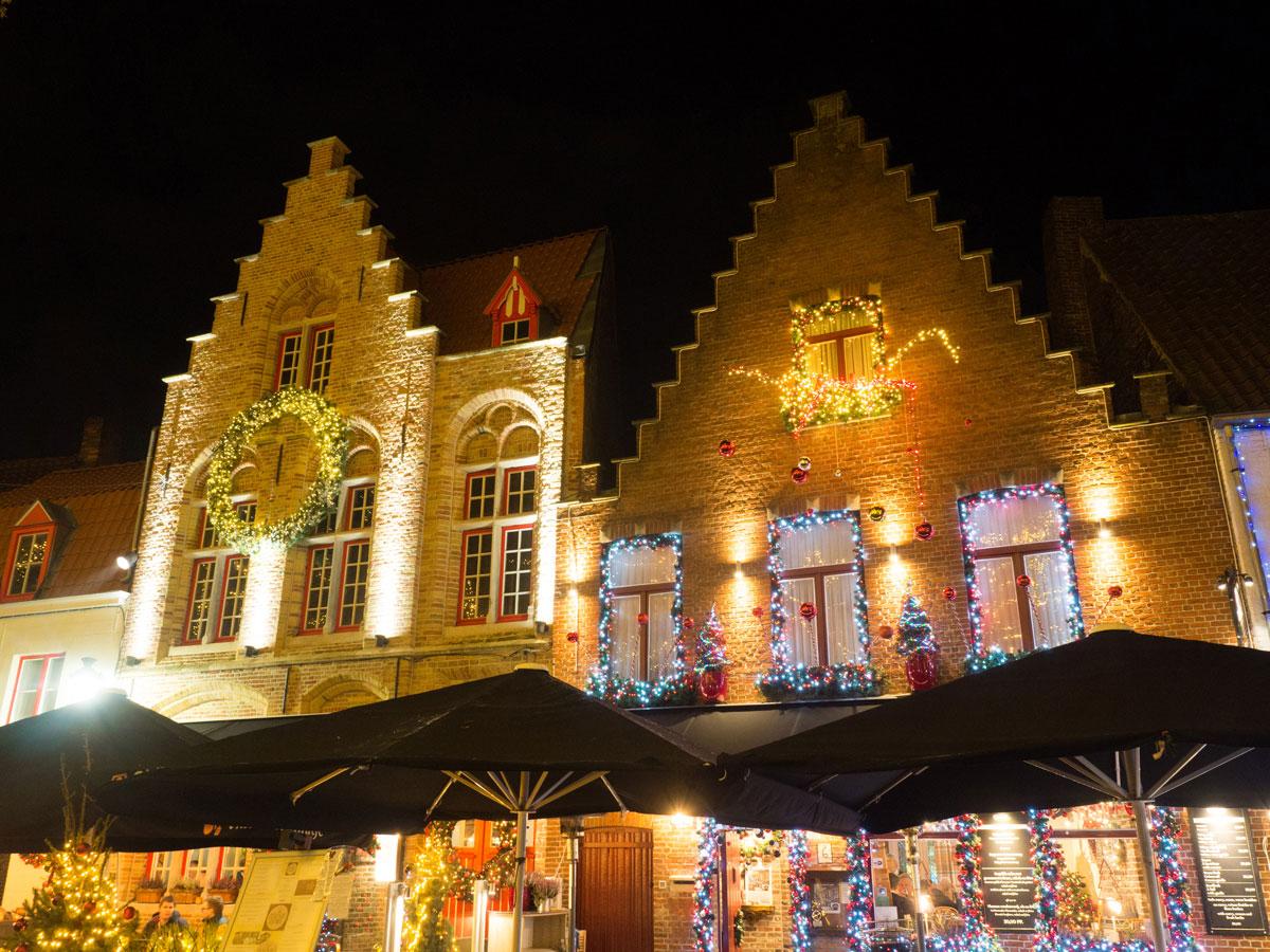bruegge flandern belgien weihnachtszeit 12 - Brügge zur Adventszeit - Weihnachtsmarkt und Weihnachtslichter