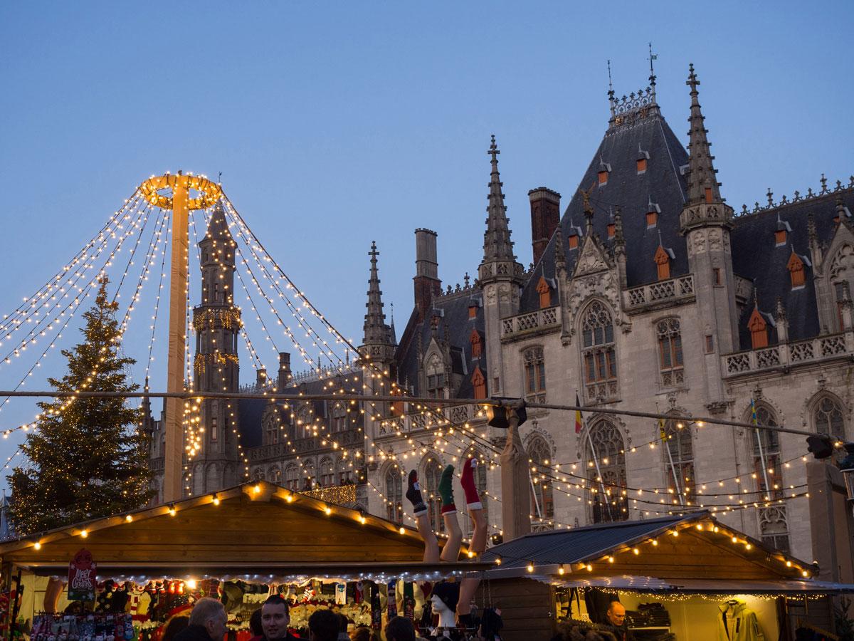 bruegge flandern belgien weihnachtszeit 13 - Brügge zur Adventszeit - Weihnachtsmarkt und Weihnachtslichter