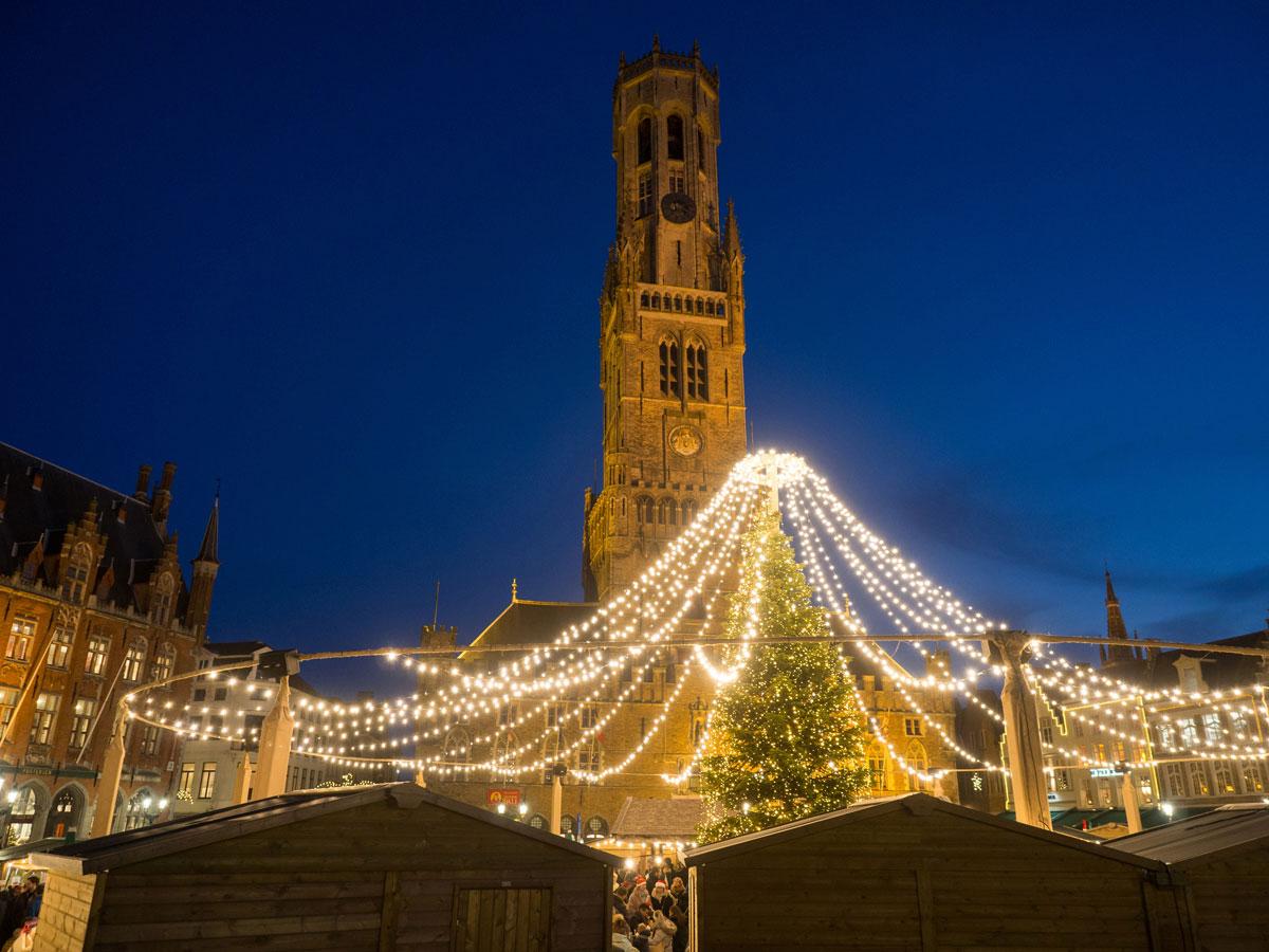 bruegge flandern belgien weihnachtszeit 16 - Brügge zur Adventszeit - Weihnachtsmarkt und Weihnachtslichter